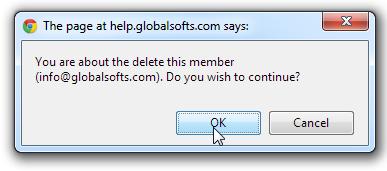 Quản trị Thành viên Member Website